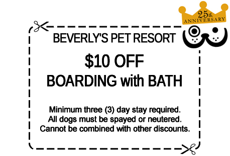 Click for printer-friendly discount boarding with bath coupon in a new window.
